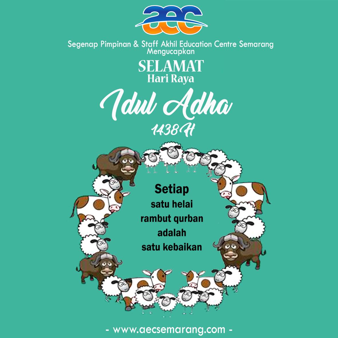 Selamat Hari Raya Idul Adha …..